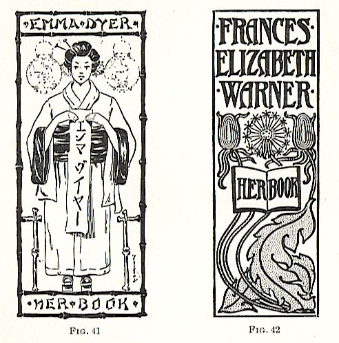 walter crane's bookplate