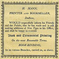 American Bookbinder's Tickets