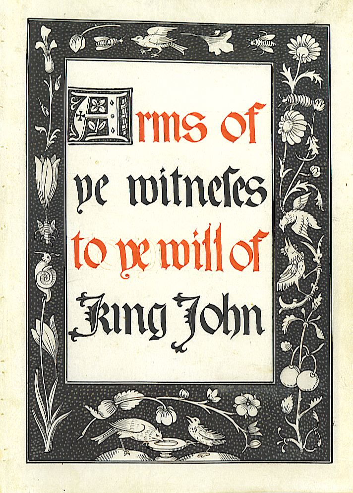 Arms of the witnesses to the will