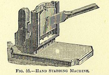 hand stabbing machine