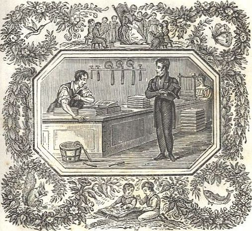 Michael Faraday bookbinder