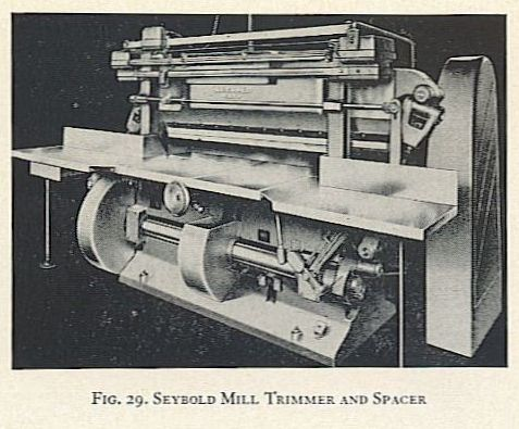 FIG. 29. SEYBOLD MILL TRIMMER