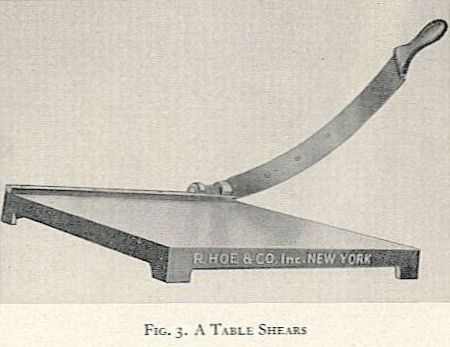 FIG. 3. A TABLE. SHEARS