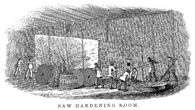 saw hardening