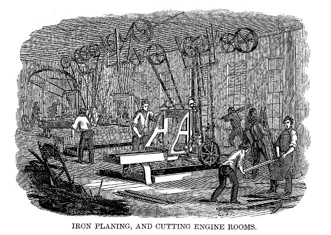 iron planing room