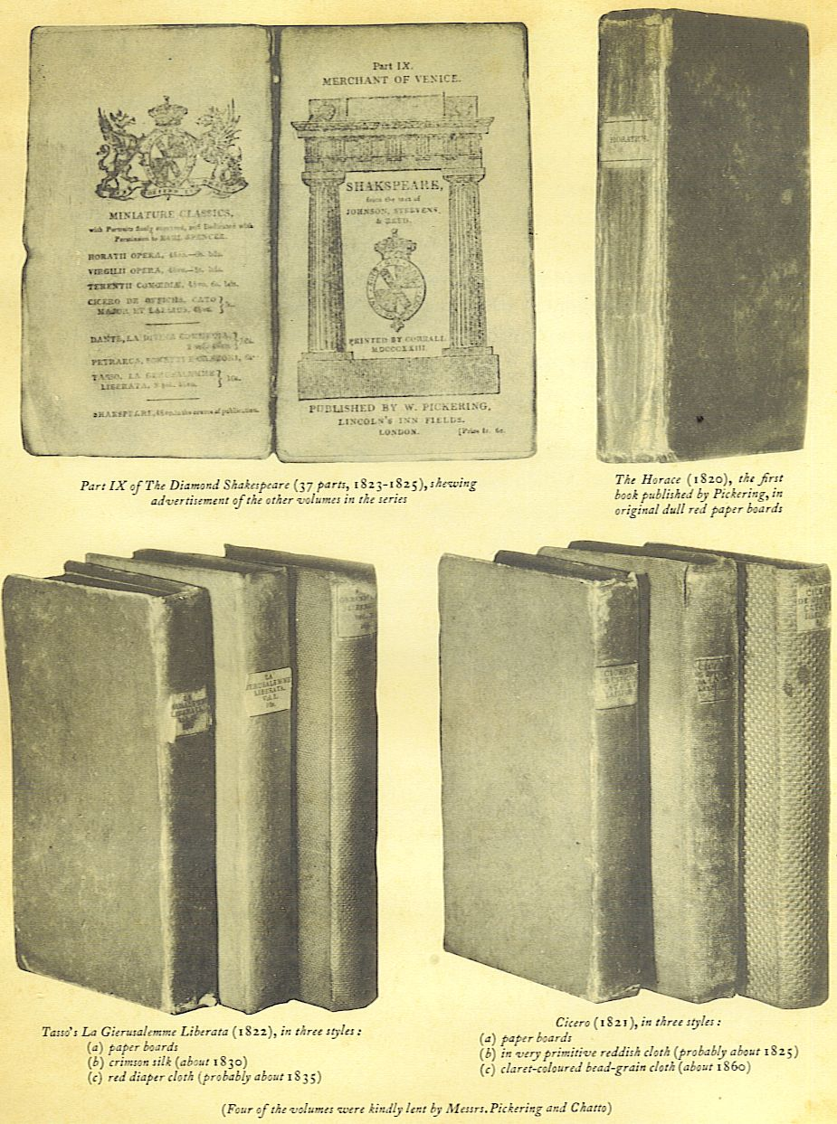 publisher's cloth bindings