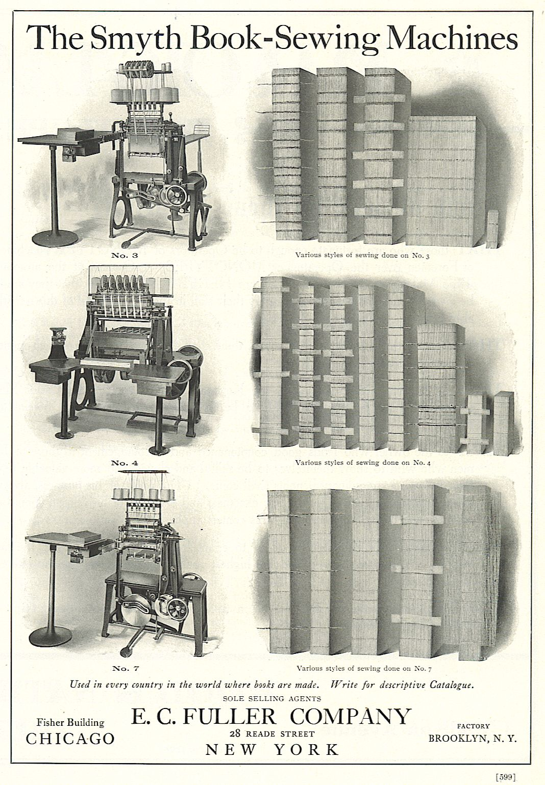 The Smyth book sewing machine