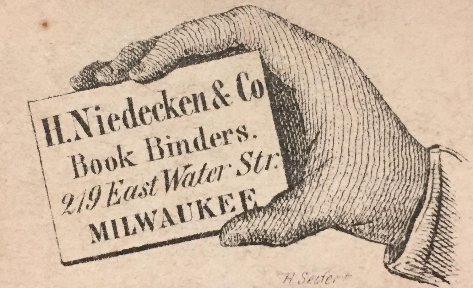 Niedecken bookbinder