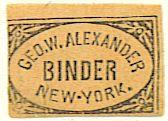 alexander bookbinder