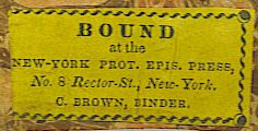 brown bookbinder