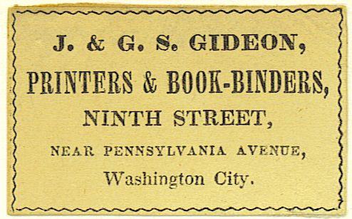 gideon bookbinder