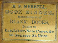 merrell bookbinder