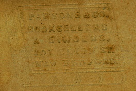 parsons bookbinder