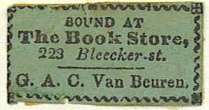 van buren bookbinder