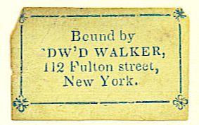 walker bookbinder